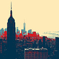 New York Manhattan by Celestial Images