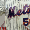 New York Mets Baseball Team And New Typography by Drawspots Illustrations