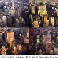 New York Mid Manhattan Medley - Photo Art Poster by Peter Potter