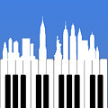 New York New York by Mark Ashkenazi