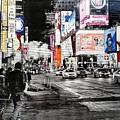 New York Night Life by VeroniKaH Grauby