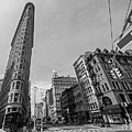 New York Ny Flatiron Building Fifth Avenue Black And White by Toby McGuire