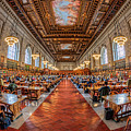 New York Public Library Main Reading Room I by Clarence Holmes