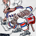 New York Rangers 1960 Program by John Farr