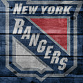 New York Rangers Barn Door by Dan Sproul