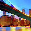 New York Skyline 11 by Garland Johnson