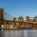 New York Skyline - Brooklyn Bridge by Christian Tuk