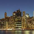 New York Skyline Panorama - 2 by Christian Tuk