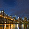 New York Skyline - Queensboro Bridge - 2 by Christian Tuk