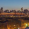 New York Skyline - Queensboro Bridge by Christian Tuk