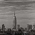New York Skyline by Robert Ullmann