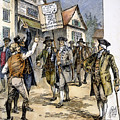 New York: Stamp Act , 1765 by Granger