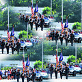 New York State Police Color Guard  1 by Jeelan Clark