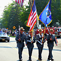 New York State Police Color Guard  5 by Jeelan Clark