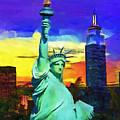 New York Statue Of Liberty by Marino Antoine