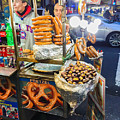 New York Street Vendor by Thomas Marchessault