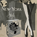 New York Style I by Mindy Sommers