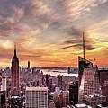 New York Sunset by Jordan Hogenson
