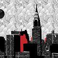 New York City Skyline Swing  by Cecely Bloom