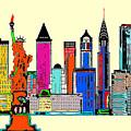 New York - The Big City by Rafael Salazar