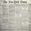 New York Times, 1864 by Granger