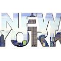 New York Word Art by Toula Mavridou-Messer
