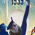 New York, World Fair, Firework, Woman In Blue Dress by Long Shot