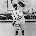 New York Yankees. Babe Ruth, Holding by Everett