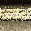 New York Yankees Baseball Team Posed by Pg Reproductions
