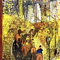 New Yorker October 09 1954 by Ludwig Bemelmans