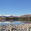 New Zealand Lake by Pei Qin Chua