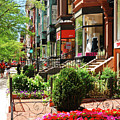 Newberry Street Spring by James Kirkikis