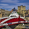 Newcastle Upon Tyne Swing Bridge by Martyn Arnold