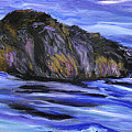 Newfoundland Oil Painting by Mary Jo Zorad