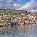 Newlyn Harbour Cornwall 2 by Chris Thaxter