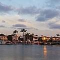 Newport Beach Bay by Kimberly Watt