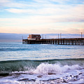 Newport Beach Ca Pier At Sunrise by Paul Velgos