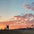 Newport Beach Panorama by Eddie Yerkish