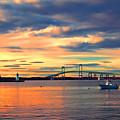 Newport Gold by Joann Vitali