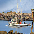 Newport Oregon - Coastal Fishing by Image Takers Photography LLC - Carol Haddon