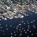 Newport R I Aerial View by John Rowe