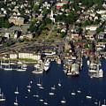 Newport Ri From The Air by John Rowe