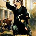 Newsboy Shouting, 1847 by Granger