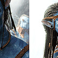 Neytiri And Jake - Gently Cross Your Eyes And Focus On The Middle Image by Brian Wallace