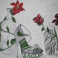 Nfl Eagles Stiletto by Audrey Lindsey