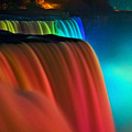 Niagara Falls At Night by Keith Allen