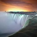Niagara Falls By Night by Insight Imaging