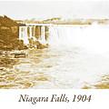 Niagara Falls Ferry Boat, 1904, Vintage Photograph by A Gurmankin
