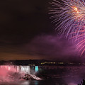 Niagara Falls Fourth Of July by Brenda Jacobs