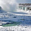 Niagara Falls Frozen  II by J R Baldini Master Photographer